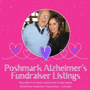 💜💜 New ALZHEIMER'S FUNDRAISER ITEMS 💜💜